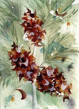 Evergreen Branch by Dawn Derman