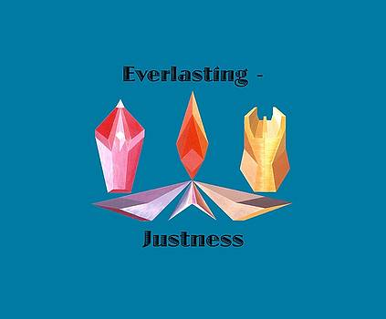 Everlasting-Justness text by Michael Bellon