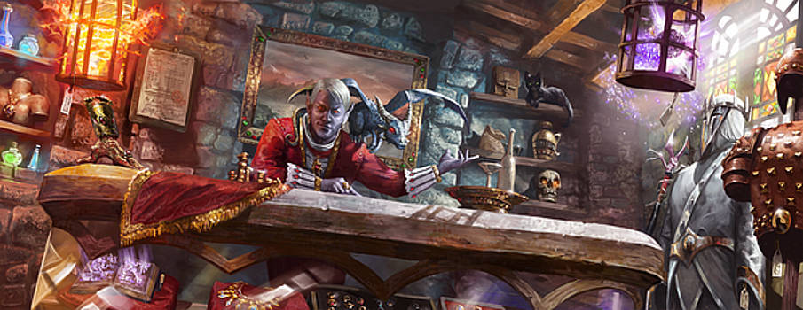Everquest Shop by Ryan Barger