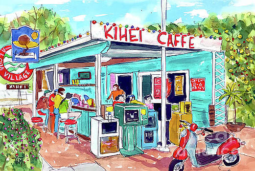 Every Day at Kihei Caffe by Tim Ross