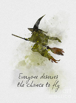 Everyone Deserves The Chance To Fly by My Inspiration