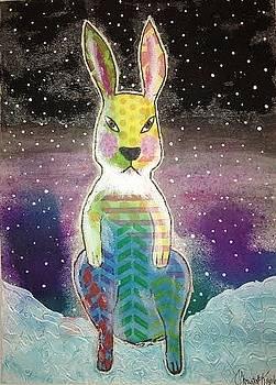 Evil Bunny by Christal Kaple Art
