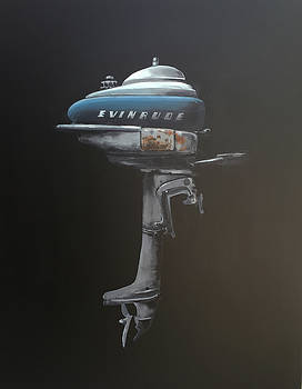 Evinrude Outboard by Jeffrey Bess