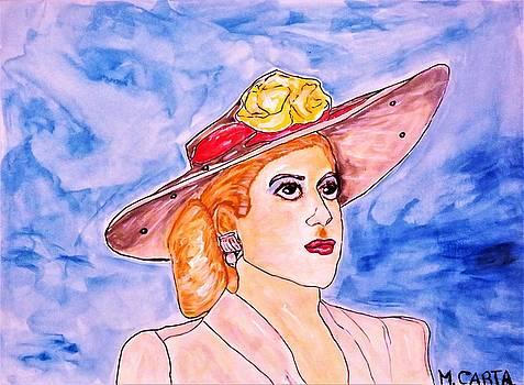 Evita Peron by Mario Carta