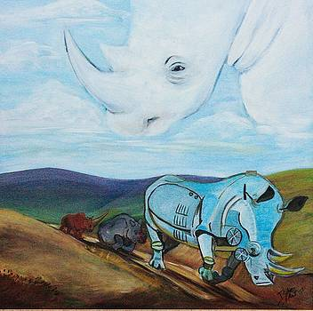 Evolution of the Rhinocerotidae    by Jeanne Silver