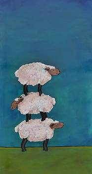 Ewe Get By With A Little Help From Your Friends by Lisa Kaye