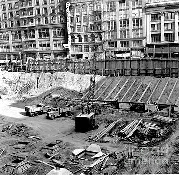 California Views Mr Pat Hathaway Archives - Excavation,  Union Square, parking Garage  July 13, 1941