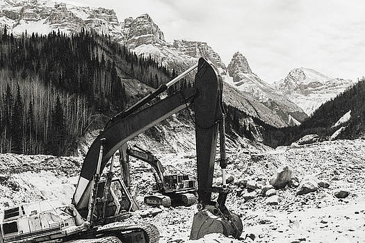 Excavators by Fred Denner