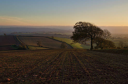 Exe valley from Bidwell Cross by Pete Hemington