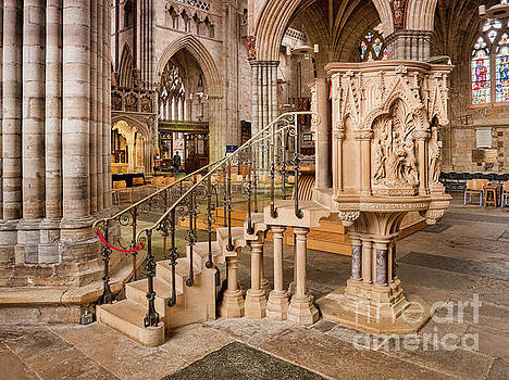 Exeter Cathedral by Colin and Linda McKie
