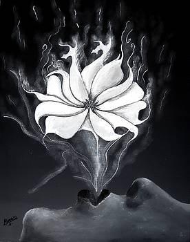 Exhaling Smoke by Edwin Alverio