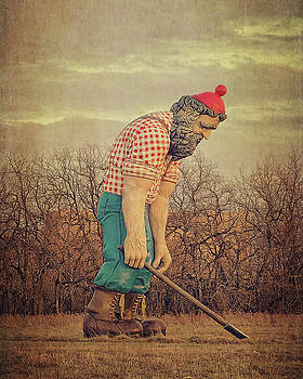 Exhausted Paul Bunyan by Emily Kay