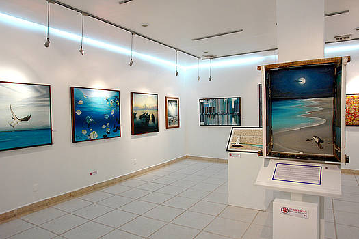 Exhibition Cozumel Museum by Angel Ortiz