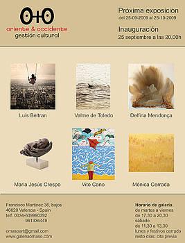 Exibition Invitation by Delfina Mendonca