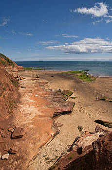 Exmouth near Orcombe Point by Pete Hemington