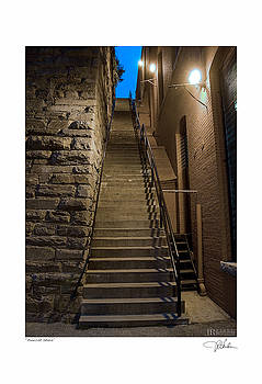Exorcist Stairs by JR Harke Photography