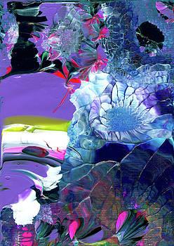 Exotic White Rose Island by Nan Bilden