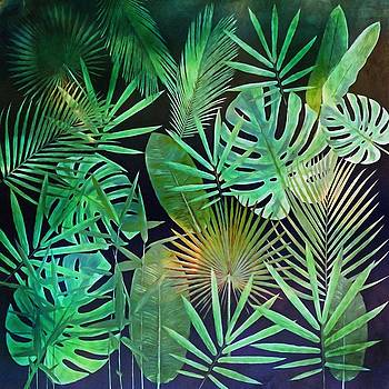 Exotique Leaves by Gabriella Weninger - David