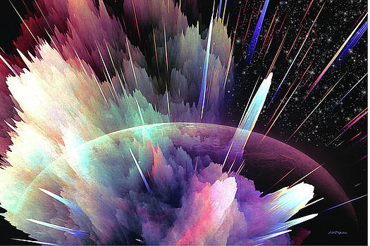 Exploding Planet by Ericamaxine Price
