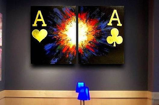 Exploding Pocket Aces by Teo Alfonso