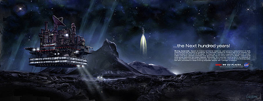 Exploration - Asteroid Mining - text by James Vaughan