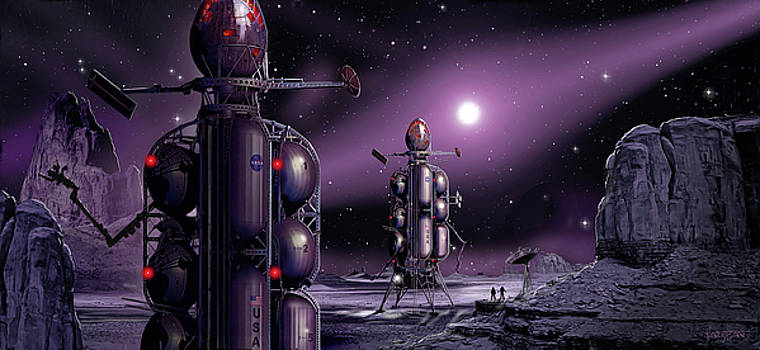 James Vaughan - Exploring Moons of the Solar Sytem - 2 landers