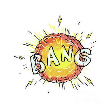 Explosion Bang Cartoon by Aloysius Patrimonio