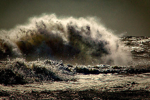 Bill Swartwout Fine Art Photography - Explosion In The Ocean
