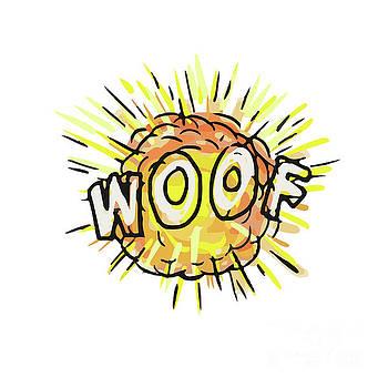 Explosion Woof Cartoon by Aloysius Patrimonio