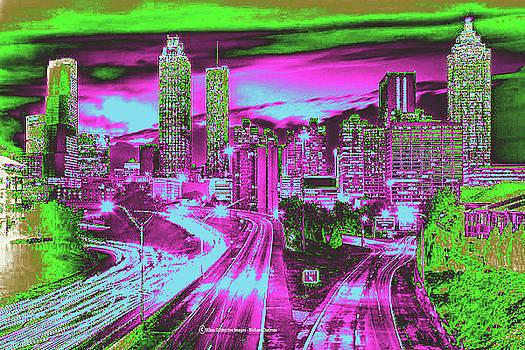 Expressionistic Atlanta by Michael Chatman