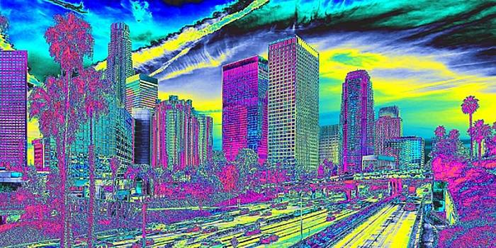 Expressionistic L.A. by Michael Chatman
