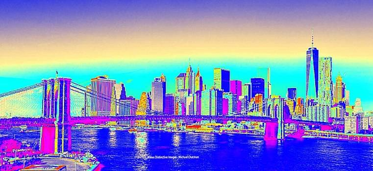 Expressionistic New York City by Michael Chatman
