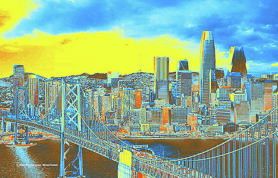 Expressionistic San Francisco by Michael Chatman
