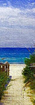 Expressive Digital Photo Pensacola Florida B52816 by Mas Art Studio