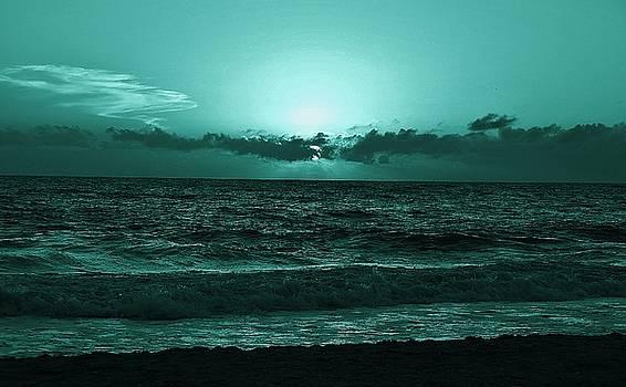 Patricia Twardzik - Extreme Green Sunset