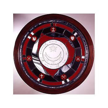 Exu Curado Mandala by Richard Spaulding