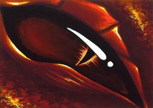 Eye Of Flame 2 by Elaina  Wagner