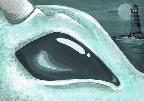 Eye Of The Coast Dragon by Elaina  Wagner