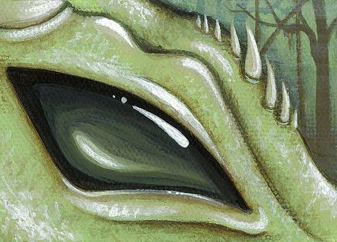 Eye Of The Moss Dragon by Elaina  Wagner