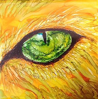 Eye of the tiger by Andrea Patton