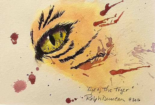 Eye of The Tiger by Ralph Duncan