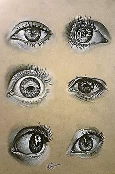 Eye Study by Gilca Rivera