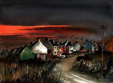 Val Byrne - Cork Beara Eyeries Sunset Beara