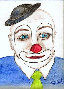 Thomas J Norbeck - Eyes of a clown