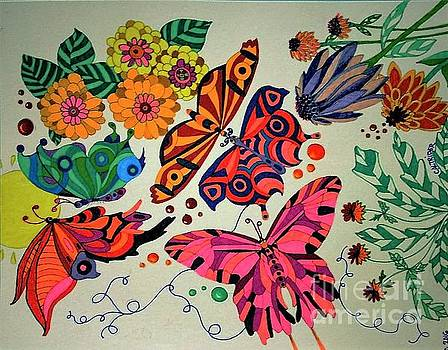 Eyes of the Butterflies by Alison Caltrider