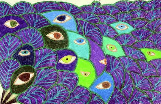 Eyes of the Peacock by Lisa Von Biela