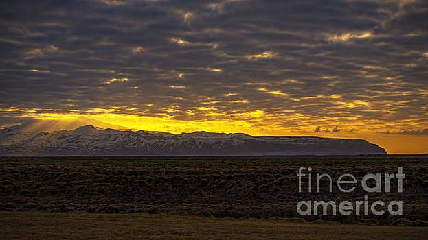 Eyjafjallajokull Sunrise Iceland 2 by Chris Thaxter