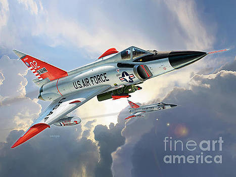 F-102 Delta Dagger William Tell by Stu Shepherd