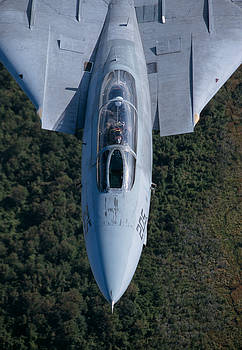 F-14B Tomcat in flight by John Clark
