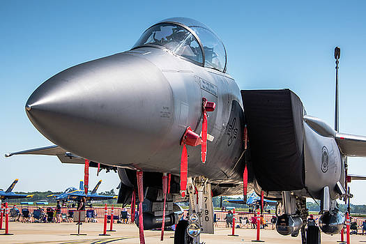 F-15 Up Close by Alan Roberts